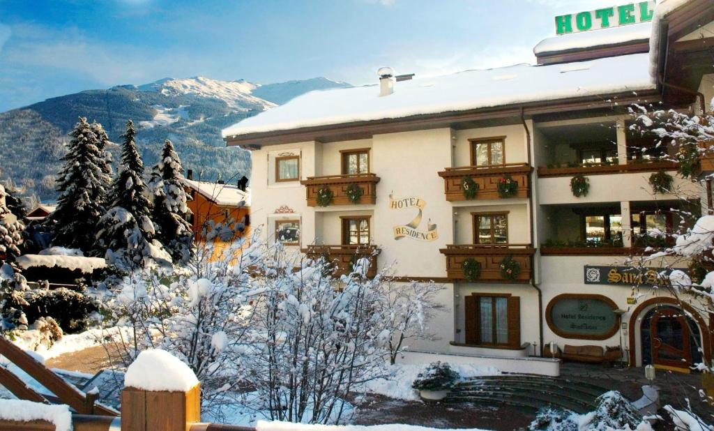 Hotel Santanton during the winter