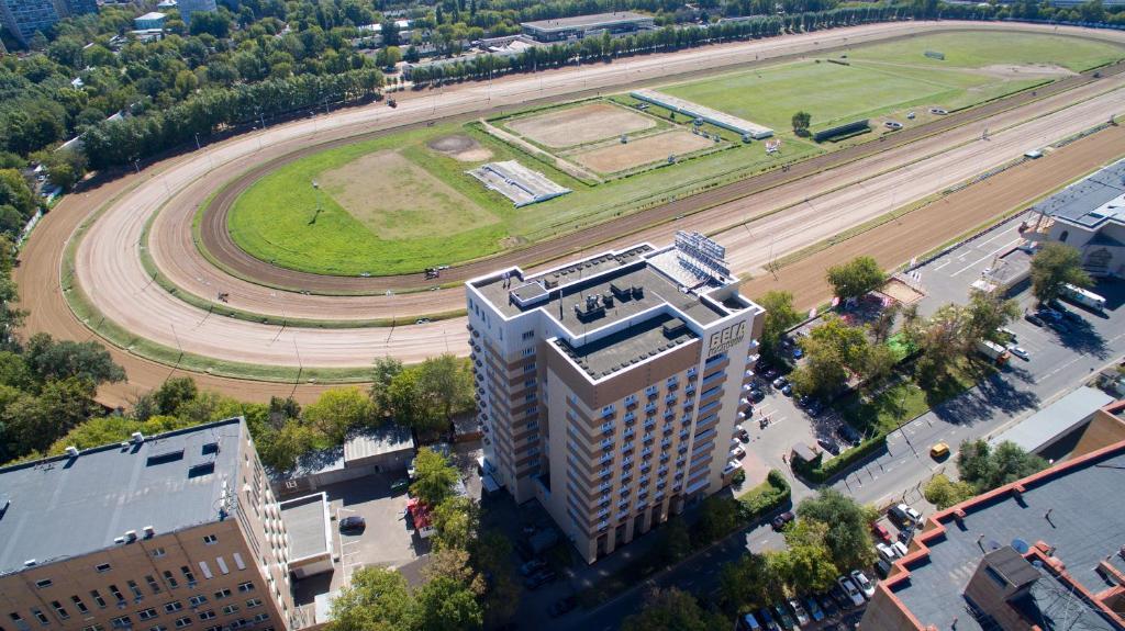 Blick auf Bega Hotel Moscow aus der Vogelperspektive