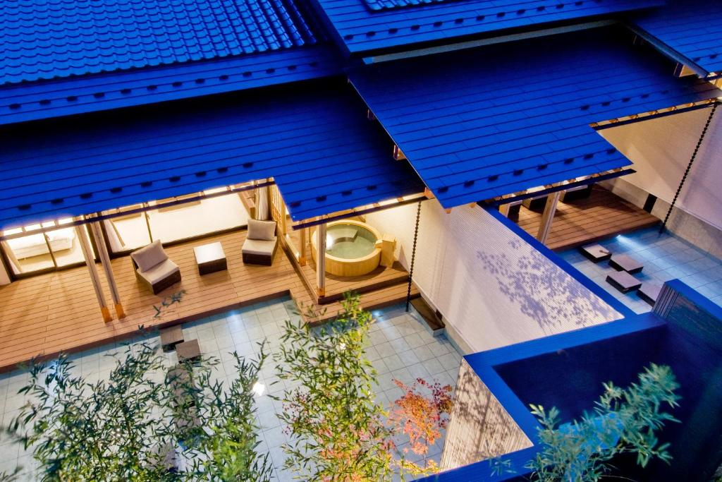 A view of the pool at Okunoin Hotel Tokugawa or nearby