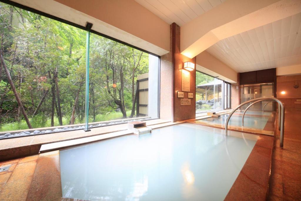 The swimming pool at or near Park Hotel Miyabitei
