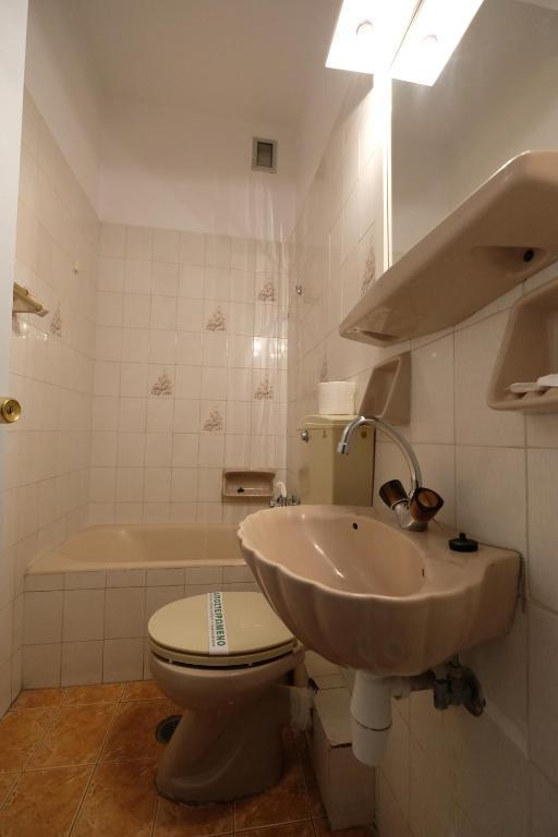 A bathroom at Hotel Sevdali