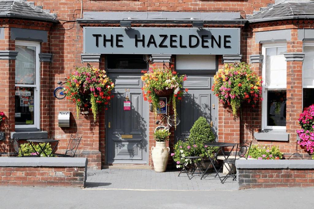 The facade or entrance of Hazeldene Guest House
