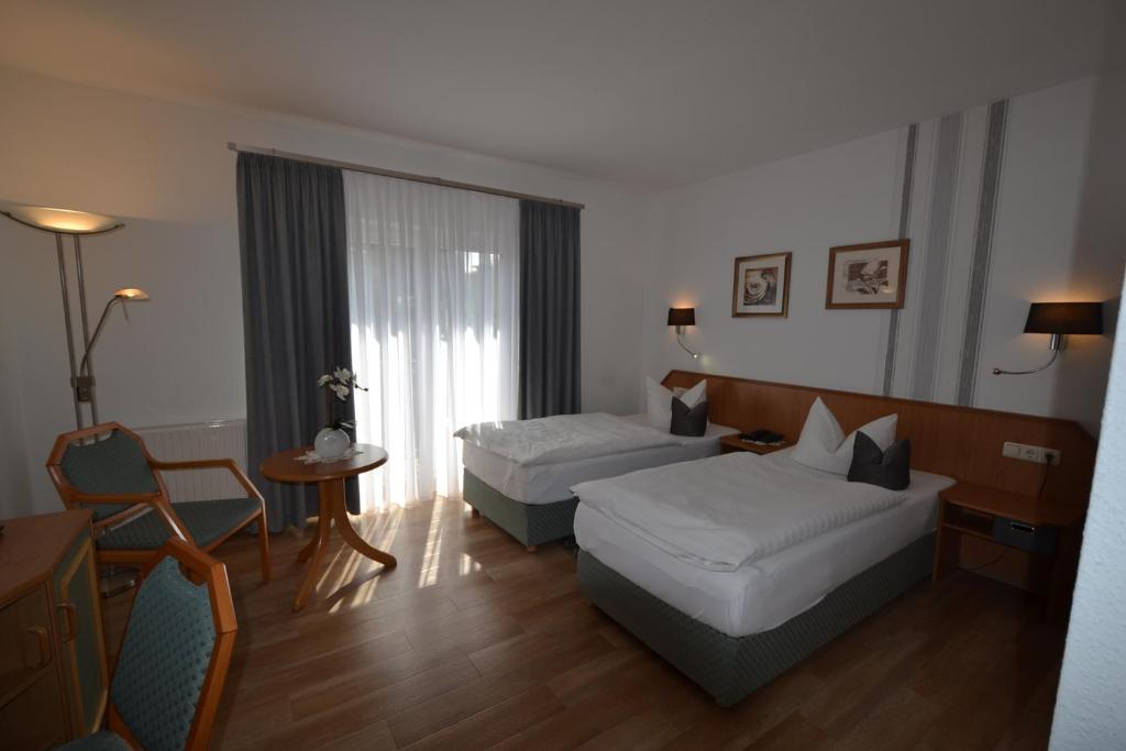 Ein Zimmer in der Unterkunft Hotel & Restaurant Zur Linde
