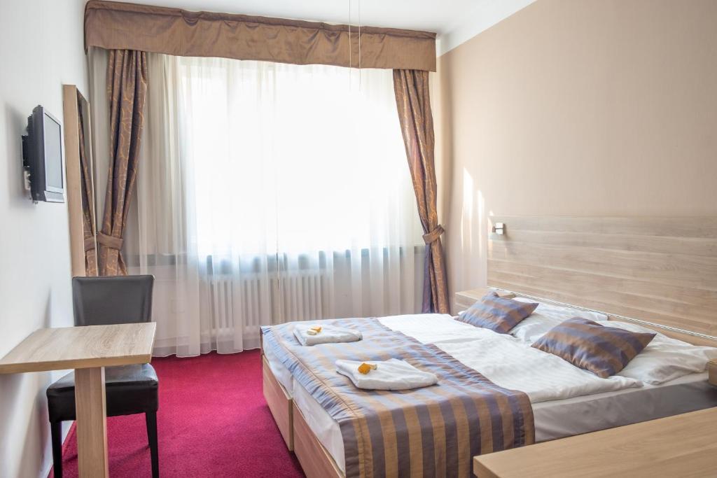 A room at Hotel Meda of Museum Kampa
