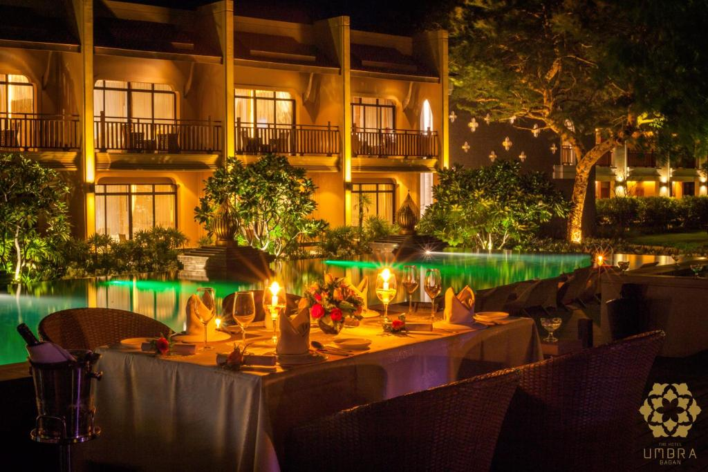 A restaurant or other place to eat at The Hotel Umbra Bagan