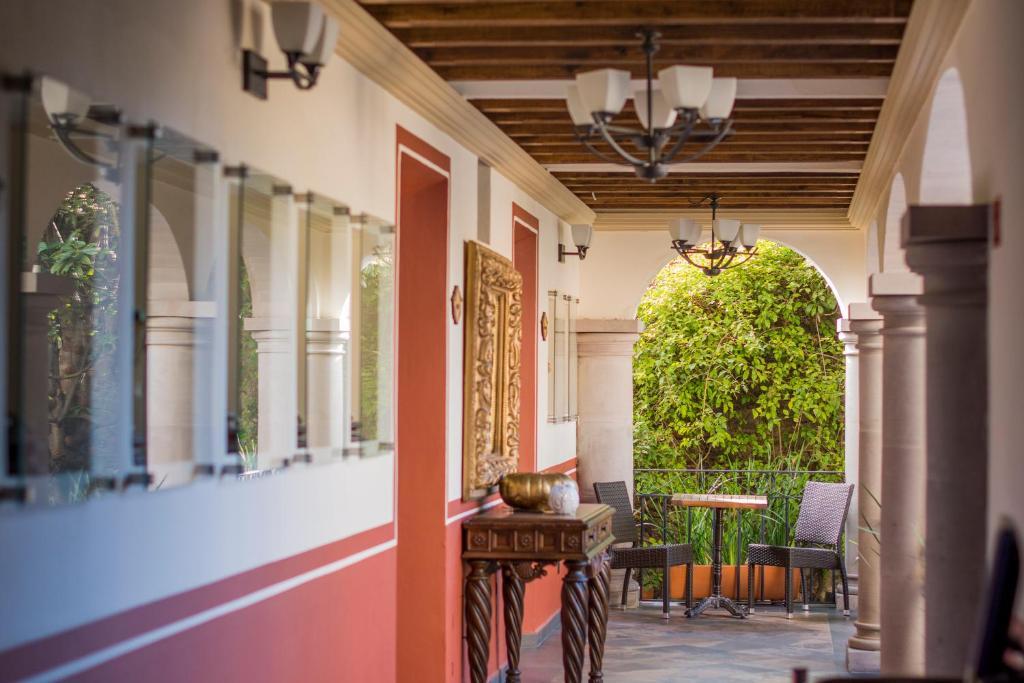 Un patio o zona al aire libre en Puerta Al Virreinato