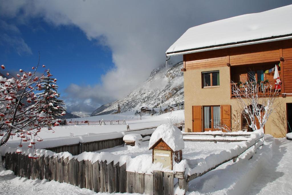 La Saume during the winter