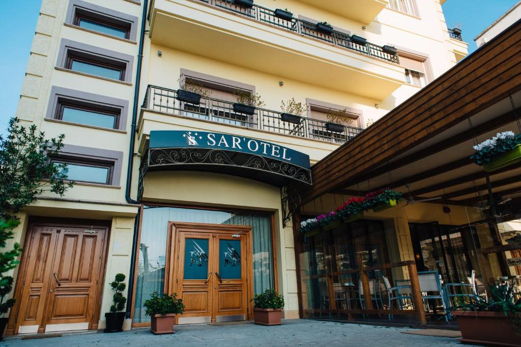 The facade or entrance of Sar'Otel Boutique Hotel