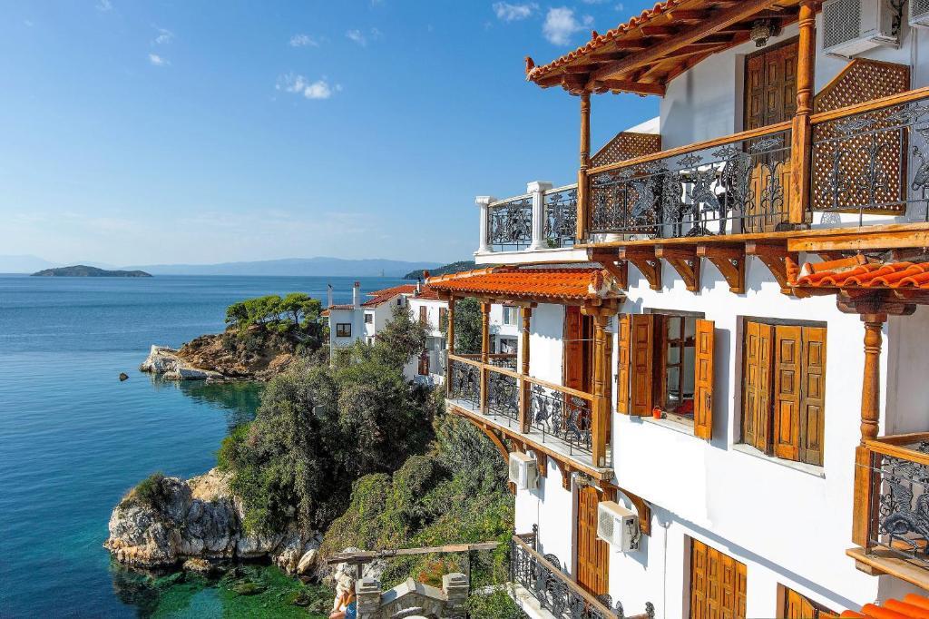 Μπαλκόνι ή βεράντα στο Ξενοδοχείο Βίλλα Όρσα