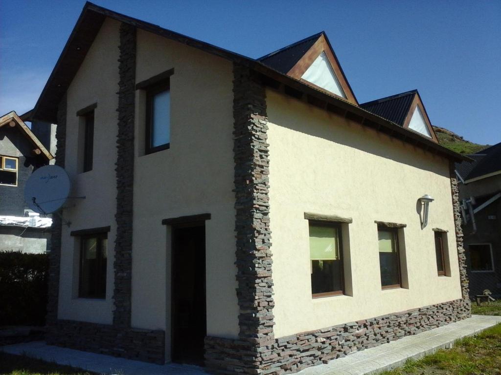 La fachada o entrada de Morena
