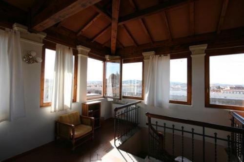 Uma área de estar em Soggiorno Isabella De' Medici