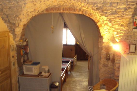 A bathroom at Entre lune et Soleil