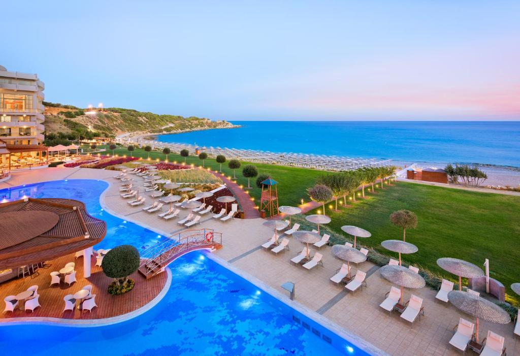 A view of the pool at Elysium Resort & Spa or nearby