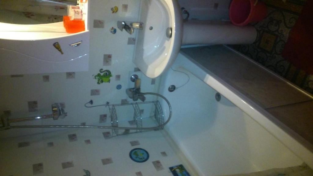 A bathroom at Apartment on Gogolia st.