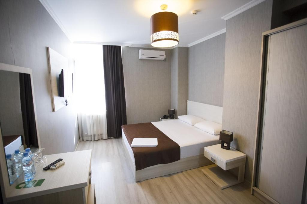 A room at Hotel & Cafe Batus