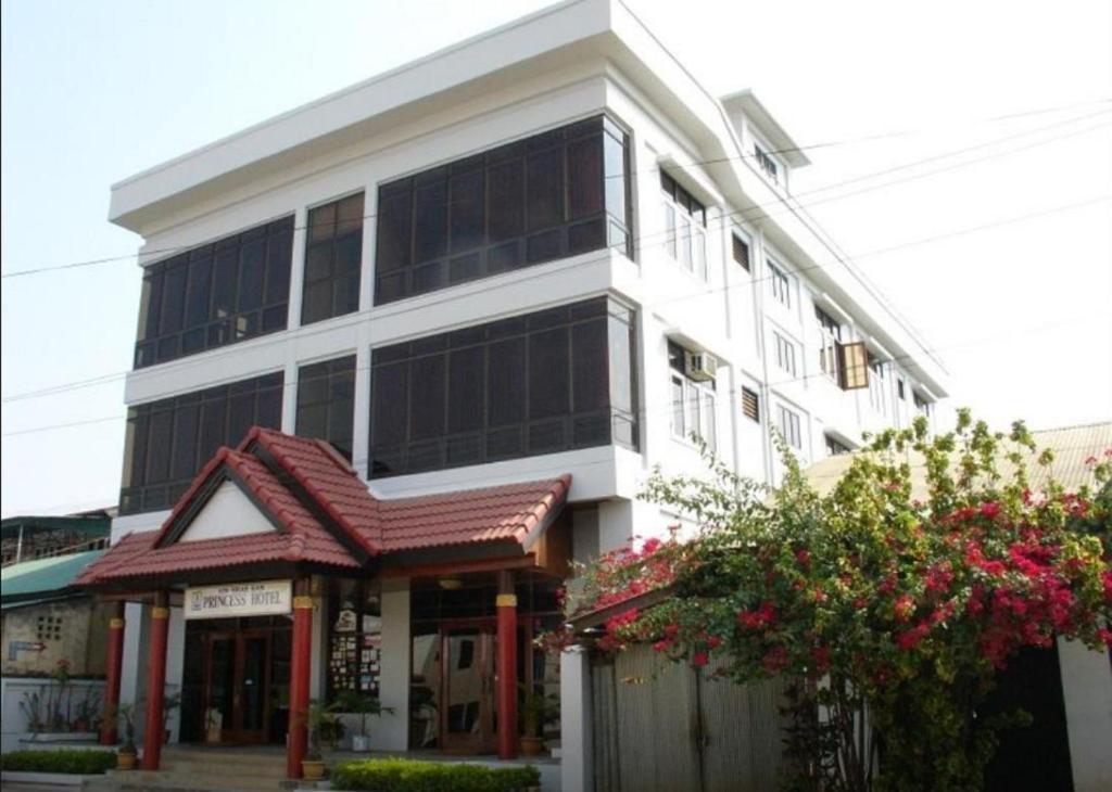 The facade or entrance of Princess Hotel