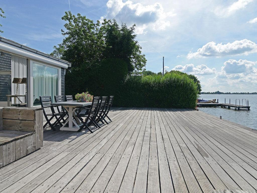 A patio or other outdoor area at Stylish Bungalow in Reeuwijk with Private Garden