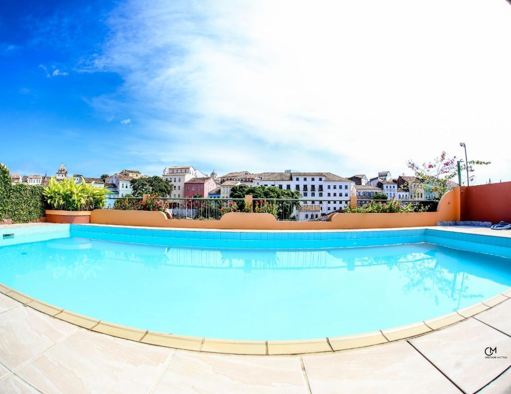 The swimming pool at or close to Hotel Pousada da Mangueira