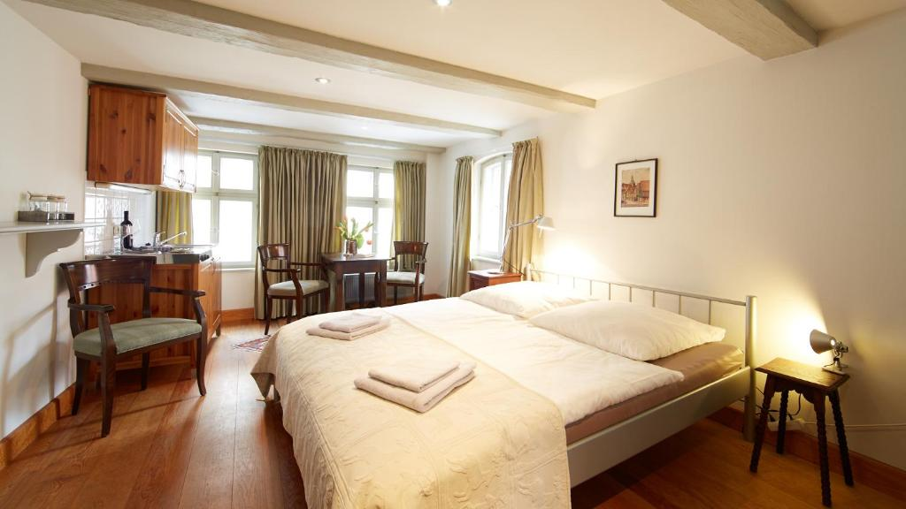 A room at Altstadt Gästehaus Drewes Wale