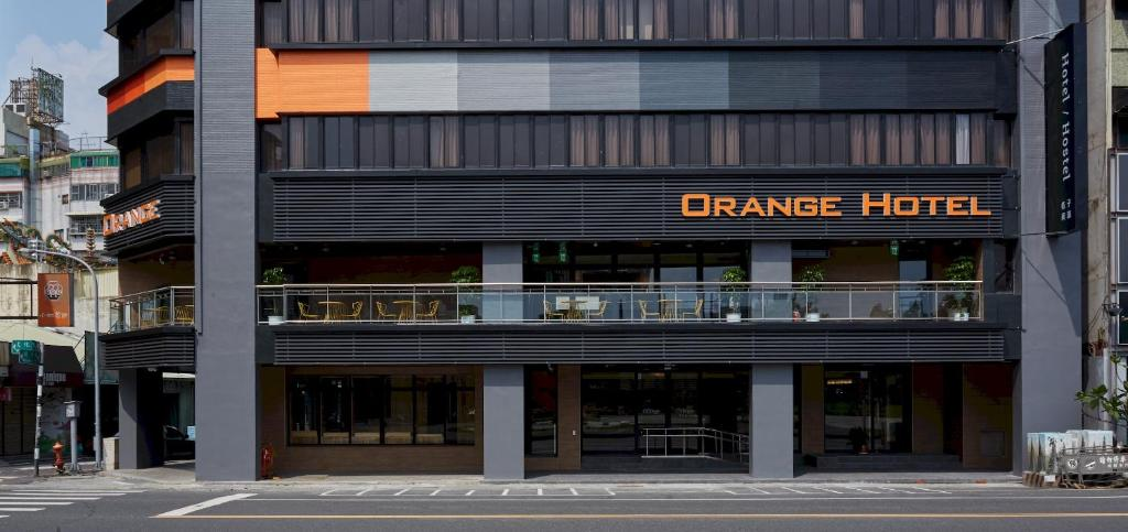 The facade or entrance of Orange Hotel - Wenhua, Chiayi
