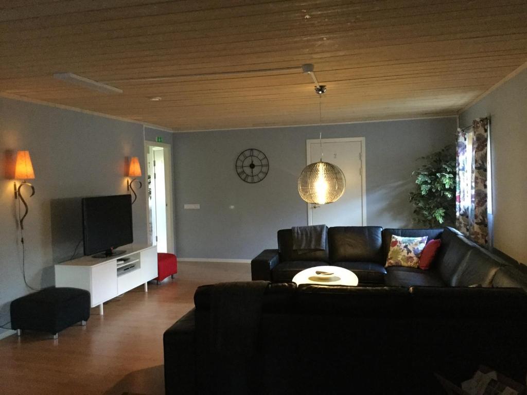 The lounge or bar area at Börs Gård