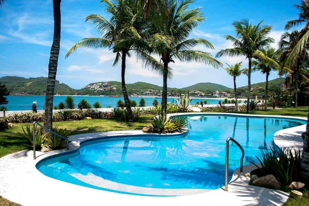 A piscina localizada em Villa Raphael ou nos arredores