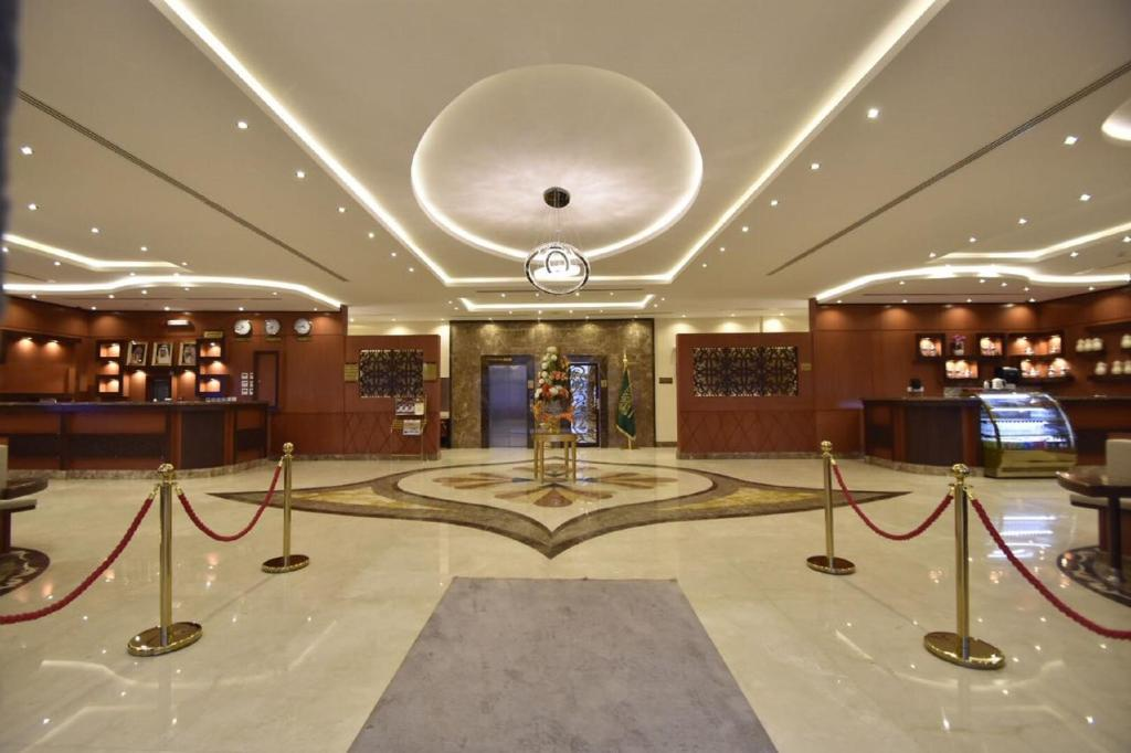 The lobby or reception area at Abat Suites