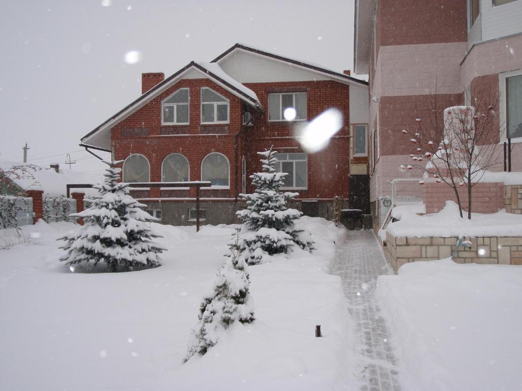 Guest House Kusimovskiy Rudnik during the winter