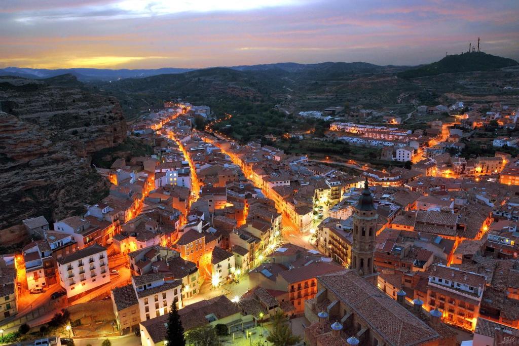 A bird's-eye view of Hostal Restaurante El Castillo