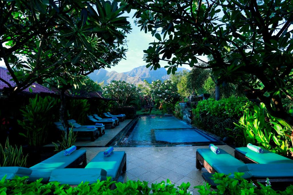 The swimming pool at or near Taruna Boutique Homestay & Spa