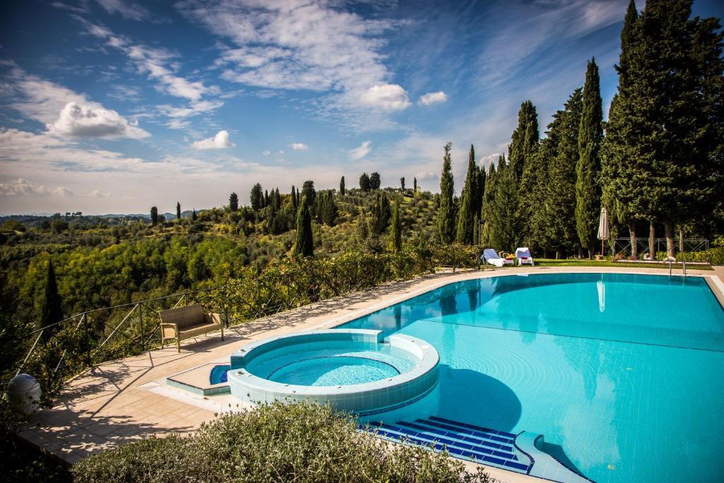 The swimming pool at or near Borgo Bucciano