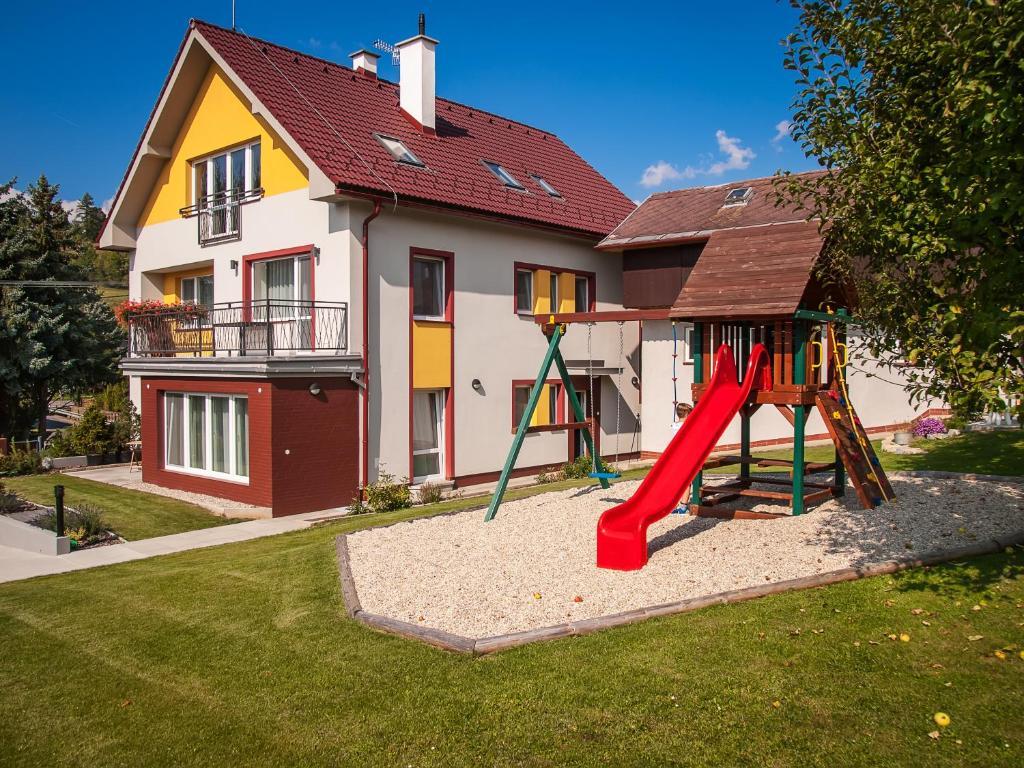 Detský kútik v ubytovaní Dom Končiar