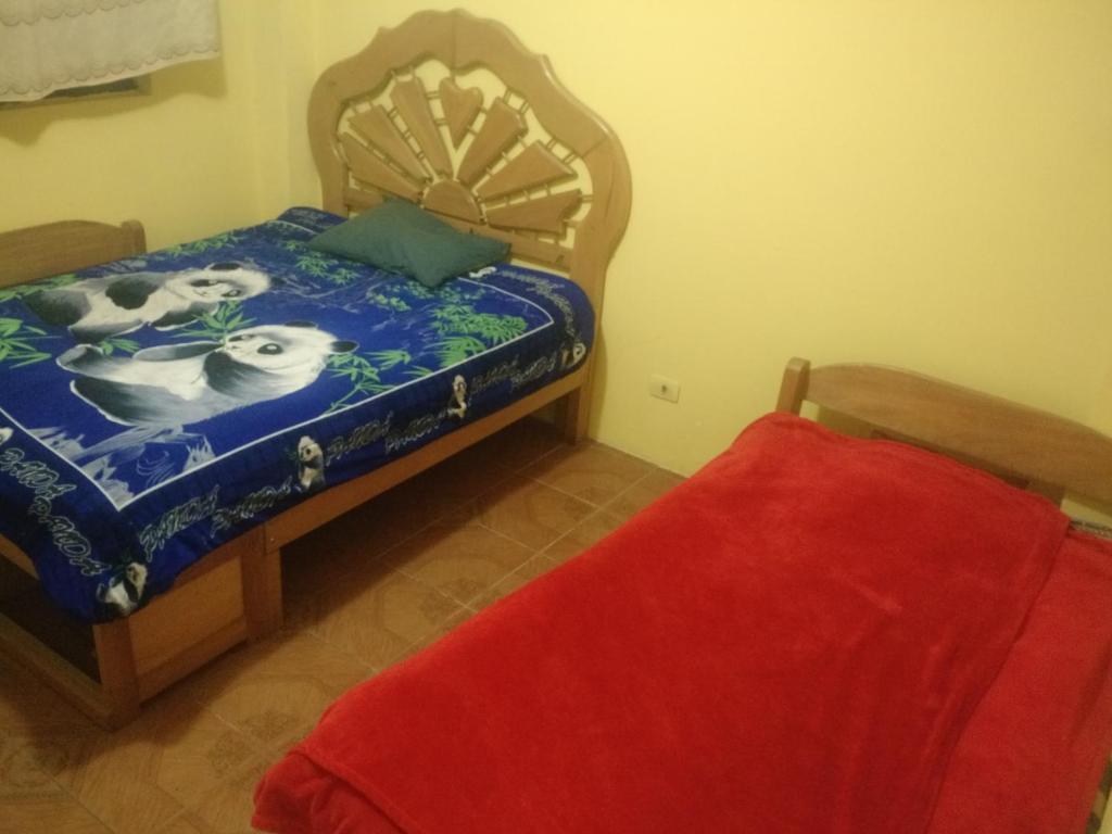 Cama o camas de una habitación en Incotec Alojamientos