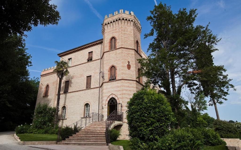 Castello Montegiove Fano, Italy