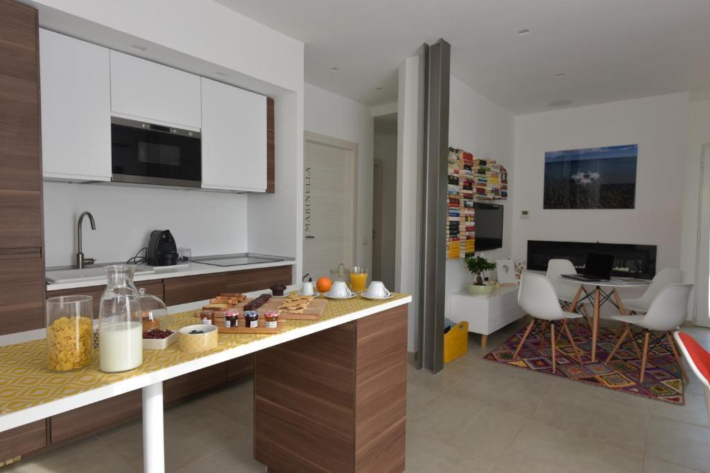 Cucina o angolo cottura di Villa Catona Trigoria