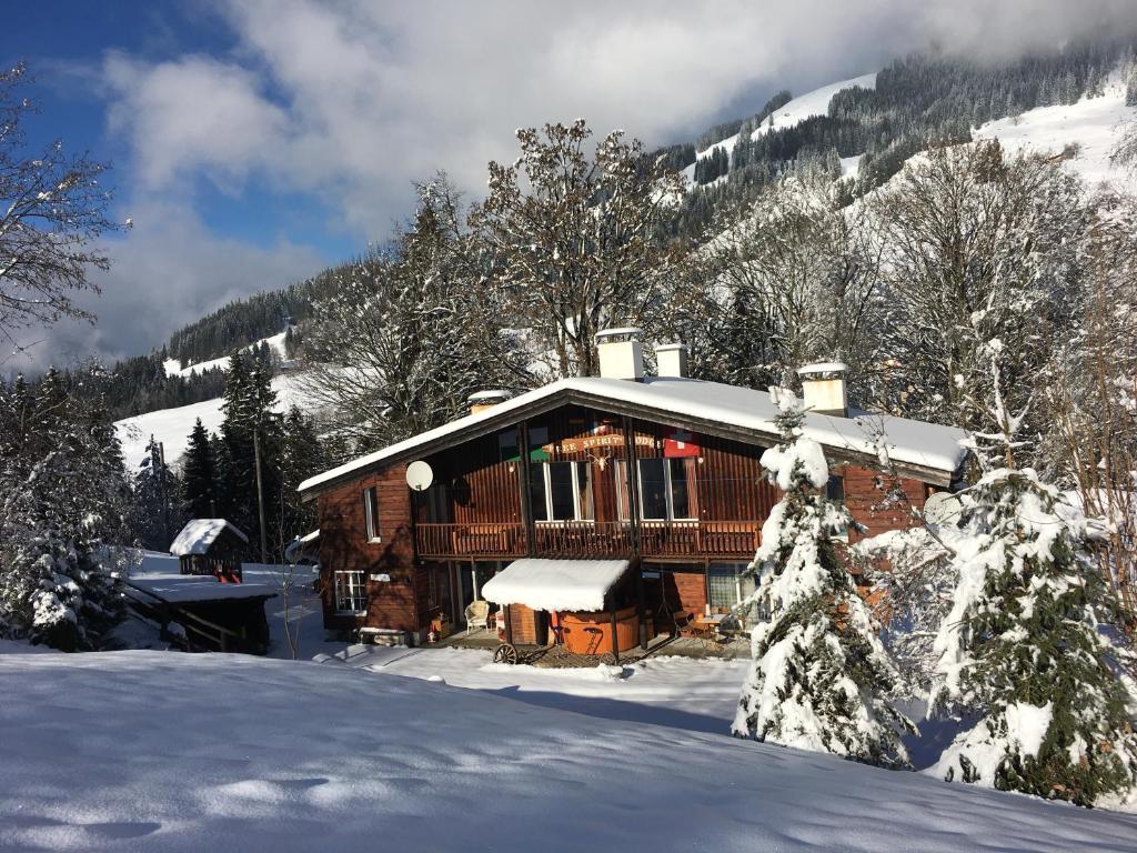 Free Spirit Lodge im Winter