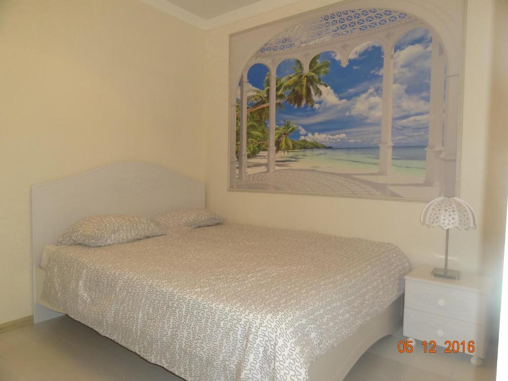 Кровать или кровати в номере Apartment at Tsyurupy 32
