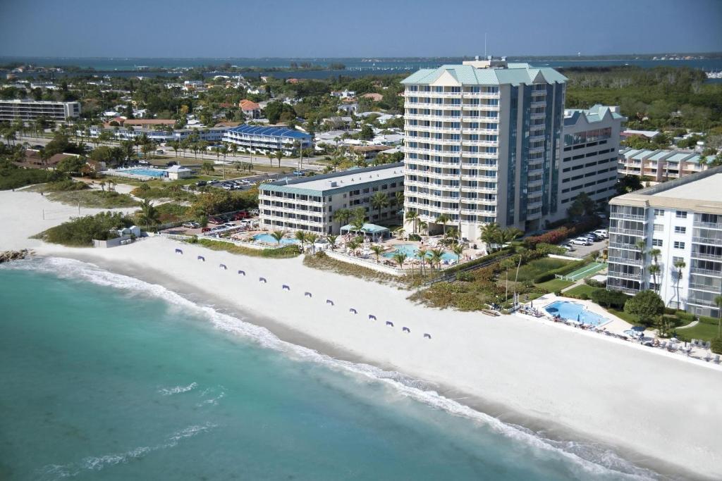 A bird's-eye view of Lido Beach Resort - Sarasota