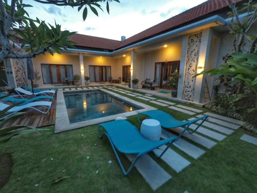 The swimming pool at or near WaterBorn Bali