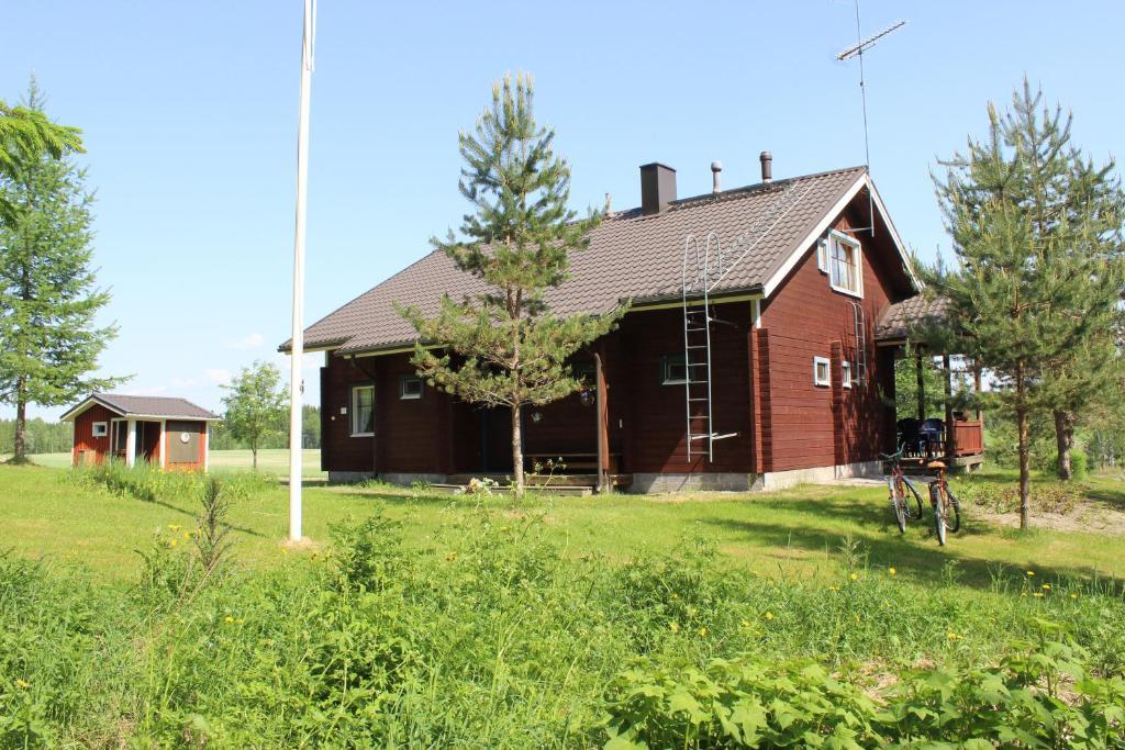 Byggnaden som lantgården ligger i