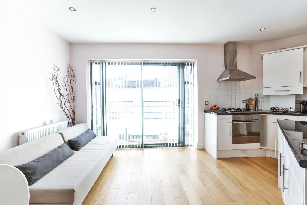 Zona de estar de Fabulous Apartment Central London