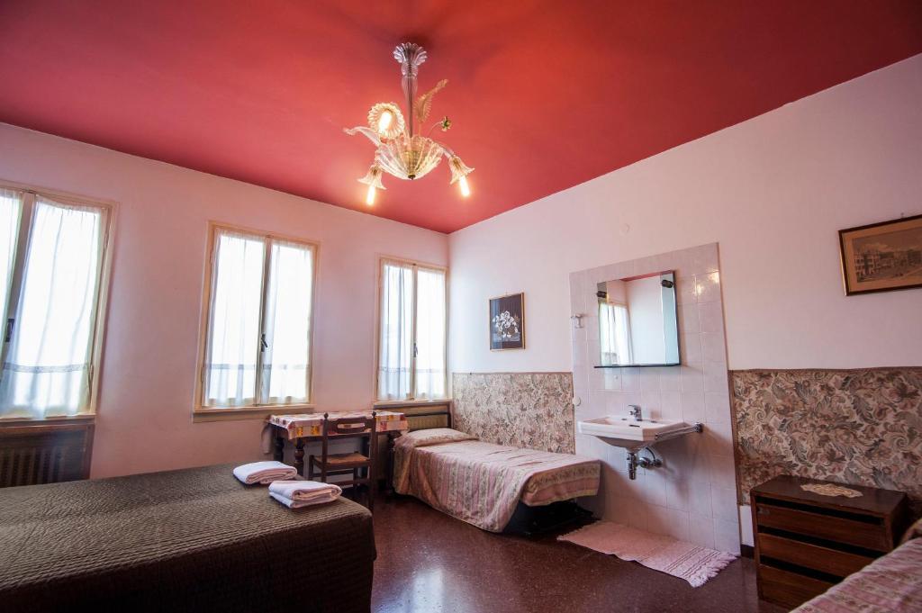 Uma área de estar em Hotel Locanda Ca' Foscari