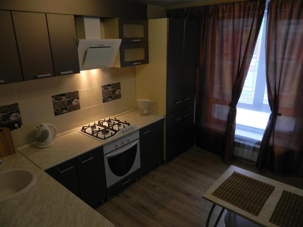 Ванная комната в Апартаменты на Маршала Устинова 10
