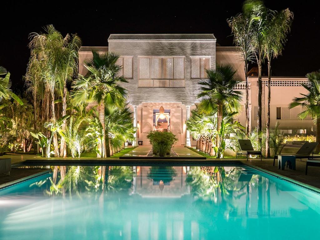 مبيت وإفطار La Maison Blanche (المغرب مراكش) - Booking.com