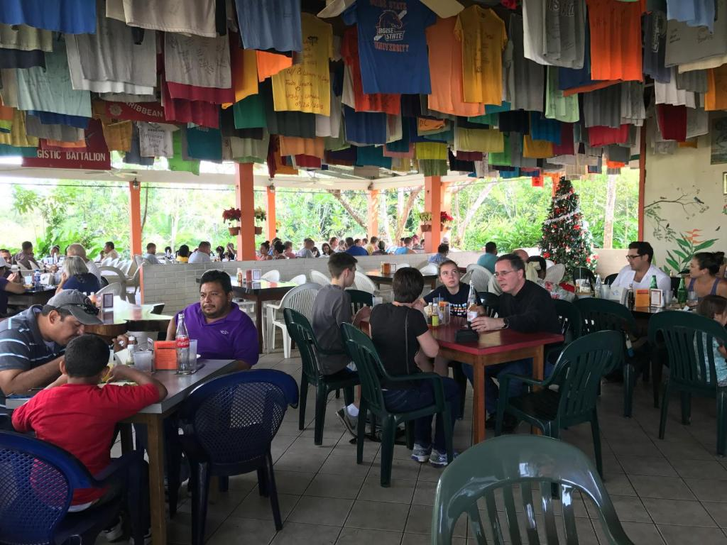 A restaurant or other place to eat at Cheers Cabanas