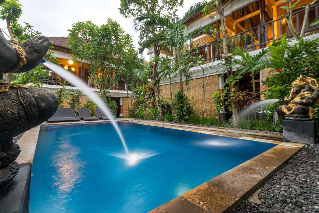 The swimming pool at or near Tropical Bali Hotel