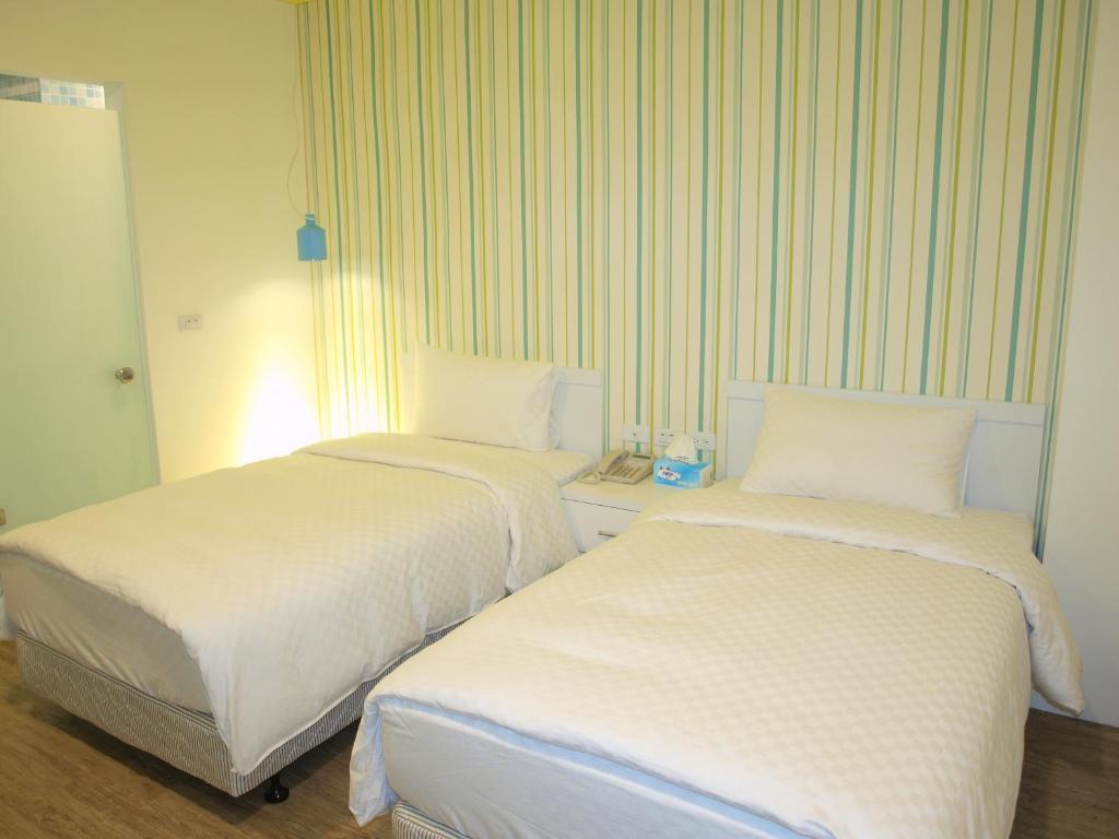 南投魚樂魚池青年旅館