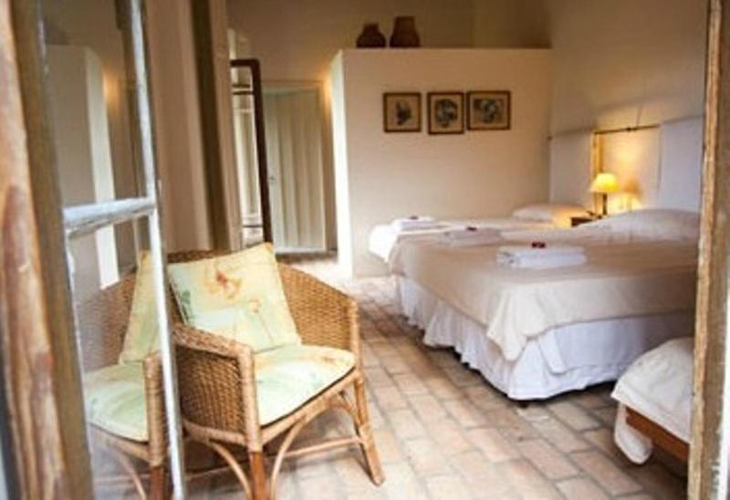 Cama ou camas em um quarto em Fazenda Montanhas do Japi