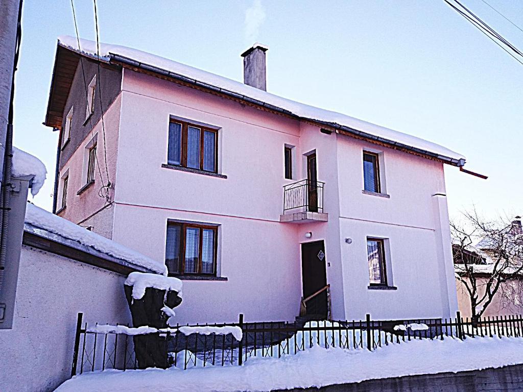 Guest House AHP during the winter
