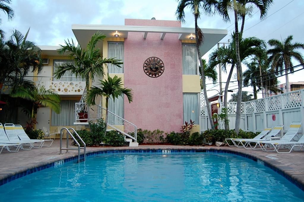 The swimming pool at or near Alcazar Resort- Gay Mens Resort